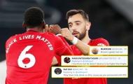 CĐV Man Utd: 'Cậu rất tốt nhưng không thể xuất sắc hơn Pogba được'