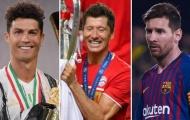 Top 10 cầu thủ có chỉ số cao nhất FIFA 2021: 3 'gã dội bom' làng túc cầu xuất hiện