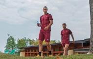 Ibrahimovic để lộ cơ bắp cuồn cuộn khiến nhiều sao Milan nể phục