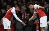 Lacazette nói một lời về việc Aubameyang gia hạn với Arsenal
