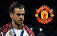 Man Utd nhận tin vui về thương vụ Gareth Bale từ Real Madrid
