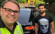 Salah gặp sự cố vì 'chiếc xế hộp' đắt giá