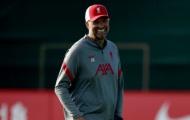 Có Thiago, dàn sao Liverpool cười tít mắt trên sân tập