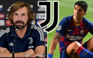 Andrea Pirlo hé lộ rào cản duy nhất khiến Luis Suarez khó về Juventus