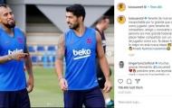 Nói lời chia tay Vidal, Suarez hé lộ luôn bến đỗ mới?