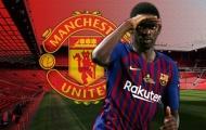Man United mở đàm phán mượn 'bom xịt' 135 triệu, Barca ra yêu sách khủng