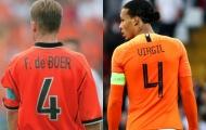 'Van Dijk chưa đạt đến con số đó'