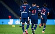 'Song sát' Mbappe - Neymar bùng cháy, PSG 'đánh tennis' với Angers