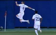 Hazard vắng mặt, Real thắng nhọc nhờ đẳng cấp của Courtois
