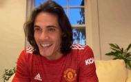 """Cavani: """"Thật vui khi được đồng hành cùng cậu ấy ở Man Utd"""""""