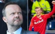 2 lý do Ed Woodward bỏ qua cơ hội chiêu mộ Erling Haaland