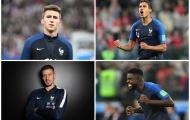 Từ Varane đến Saliba: 'Siêu đội hình' toàn những trung vệ của ĐT Pháp