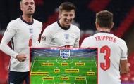 Mất 2 trụ cột hàng thủ, ĐT Anh sẽ đá đội hình nào đấu Đan Mạch?