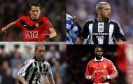 12 cầu thủ từng khoác áo Man Utd và Newcastle: Cựu thần đồng nước Anh góp mặt