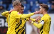 Sancho bế tắc, Haaland dự bị vào sân giải quyết 3 điểm cho Dortmund