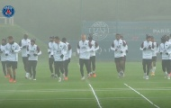 Man Utd 'run rẩy' vì hình ảnh đáng chú ý trên sân tập PSG