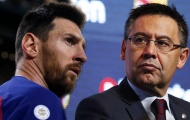 """Messi gia nhập đội quân """"nổi loạn"""", chống đối BLĐ Barca"""