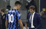 Lautaro Martinez tức giận, Conte vẫn bình thản