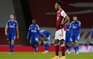 Aubameyang và con số tệ hại trong ngày Arsenal thua nhạt Leicester