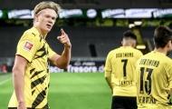 Sút tung lưới Schalke, Haaland đang trở thành một sát thủ toàn diện
