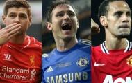 Đội hình sân 7 xuất sắc nhất Lampard từng đối đầu: Huyền thoại M.U, Liverpool nơi hàng thủ