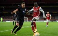 Pepe ghi bàn, người cũ của Arsenal vẫn tỏ ra khắt khe