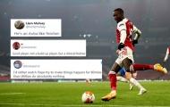 CĐV Arsenal: 'Cậu ấy còn tốt hơn cả Willian, sút bóng cứ như Aubamyang'