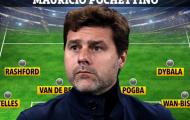 Đội hình Man United khủng cỡ nào nếu Pochettino tiếp quản?