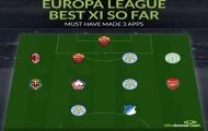 Đội hình tiêu biểu lượt đi vòng bảng Europa League 2020-21: 'Bom tấn' Arsenal góp mặt