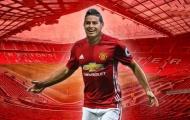 James Rodriguez ước mơ khoác áo M.U, tiết lộ từng lỡ cơ hội cập bến Old Trafford