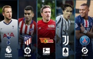 5 chân kiến tạo đỉnh nhất các giải đấu hàng đầu châu Âu: Tiền đạo toàn diện!