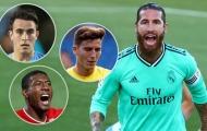 Sergio Ramos không gia hạn, Real xác định 3 'đá tảng' về thay thế