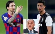 """Chủ tịch La Liga: """"Ronaldo chẳng giúp Serie A cải thiện được gì"""""""