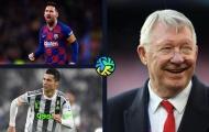 Sir Alex: 'Messi xuất sắc nhất thế giới, nhưng chỉ Ronaldo mới làm được điều này'