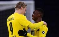 Dortmund bùng nổ sau 1 đêm, Haaland và 'thần đồng' chiếm 'hết sóng' Bundesliga