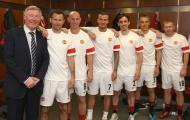10 danh thủ vĩ đại nhất dưới trướng Sir Alex Ferguson ở Man Utd