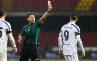 Morata đã nói gì khiến trọng tài rút thẻ đỏ sau tiếng còi chung cuộc?