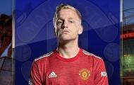 Van de Beek sẽ đá vị trí nào tại Man United?
