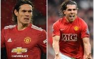 Từ Cavani đến Tevez: Các sao Nam Mỹ ghi nhiều bàn nhất Man Utd