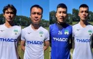 4 tân binh hội quân cùng HAGL, tập luyện chuẩn bị cho V-League 2021