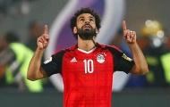 Ai Cập hoà hú vía trong trận đấu không Salah