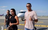 NÓNG: Ronaldo đã đặt chân đến Turin