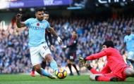 Sergio Aguero dẫn đầu đội hình hay nhất trận Arsenal vs Man City