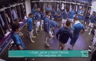 Real tiết lộ hình ảnh cuối cùng về Ronaldo trong phòng thay đồ