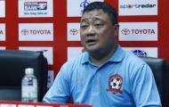 HLV trưởng Hải Phòng tiết lộ lý do 'ngã ngựa' trước Hà Nội FC