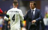 """Real Madrid 4 trận không ghi bàn, Ramos vẫn """"coi thường"""" Ronaldo"""