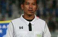Soi chân dung trọng tài Thái Lan 'cướp' bàn thắng của Văn Toàn