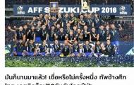 Báo Thái dè bỉu khi ĐT Việt Nam vào tốp 100 FIFA