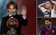Luka Modric ẵm Quả bóng Vàng 2018: Thời và thế