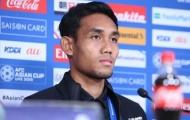 Tiền đạo ĐNÁ đầu tiên ghi bàn ở J1 League 'tuyên chiến' với Ấn Độ